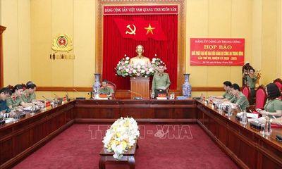 Đại hội Đảng bộ Công an Trung ương lần thứ VII - Kỳ vọng mới, khí thế mới