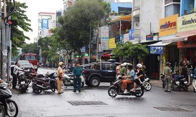 Vụ chi nhánh ngân hàng bị cướp 2,1 tỷ: Tài xế taxi được dặn chờ trước phòng giao dịch