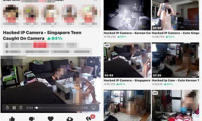 Chấn động vụ hack camera ở Singapore: Ảnh
