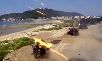 Trung Quốc tập trận quy mô lớn đúng ngày Song thập của Đài Loan