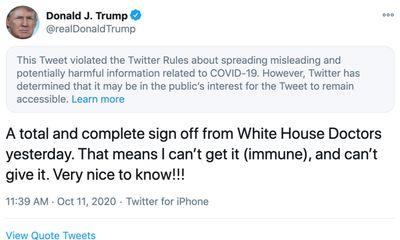 Twitter lại dán nhãn cảnh bảo tuyên bố