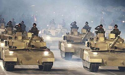 Triều Tiên hé lộ mẫu xe tăng mới từng xuất hiện