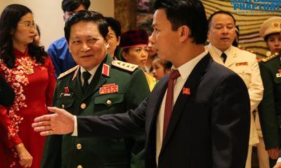 Đại tướng Ngô Xuân Lịch dự Đại hội Đảng bộ tỉnh Hà Giang lần thứ XVII
