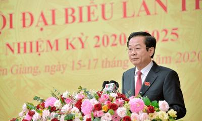 Ông Đỗ Thanh Bình được bầu giữ chức Bí thư Tỉnh ủy Kiên Giang