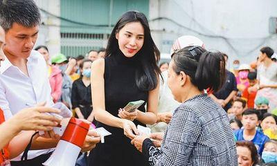Thuỷ Tiên xuất quỹ 70 triệu đồng xây nhà tình thương cho cụ bà
