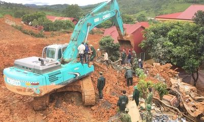 Cảnh báo nguy cơ lũ quét, sạt lở đất ở vùng núi từ Nghệ An đến Quảng Nam
