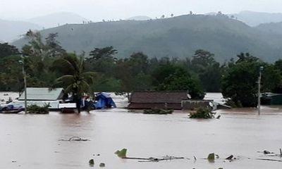 Cảnh báo sạt lở đất, lũ khẩn cấp ở Quảng Bình, Quảng Trị, Thừa Thiên Huế