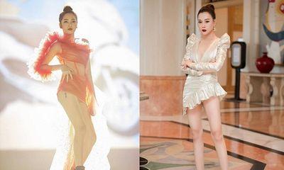 Đỏ mặt với phong cách váy siêu ngắn khiến các người đẹp Việt