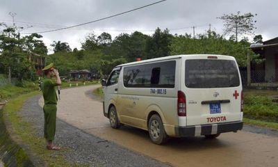 Sáng 22/10, lễ tang 22 quân nhân hy sinh ở Quảng Trị được tổ chức theo nghi thức quân đội