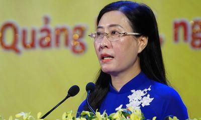 Bà Bùi Thị Quỳnh Vân tái đắc cử Bí thư Tỉnh uỷ Quảng Ngãi