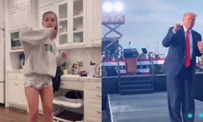 Video: Người dùng Tik Tok đua nhau bắt chước điệu nhảy tranh cử của Tổng thống Trump