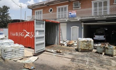 Tìm thấy 7 thi thể đang phân hủy trong một container ở Paraguay