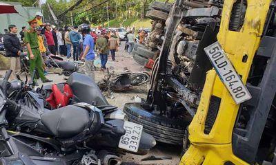 Tin tai nạn giao thông mới nhất ngày 25/10/2020: Ô tô