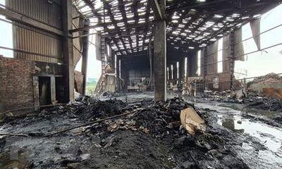 Nổ lò hơi trong xưởng sản xuất giấy ở Bắc Ninh, 1 người chết