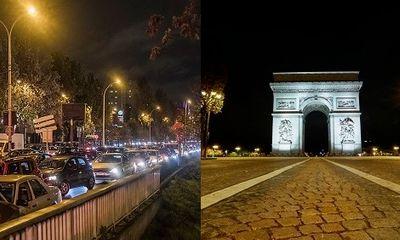 Dịch COVID-19: Hình ảnh nước Pháp từ tắc nghẽn đến vắng lặng vì lệnh phong tỏa thứ 2