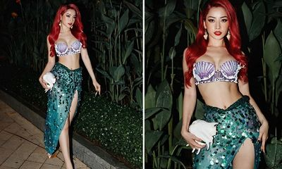 Chi Pu hóa thành nàng tiên cá Ariel nóng bỏng, dân mạng vẫn không quên