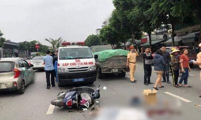 Hà Nội: Va chạm với xe tải, nữ sinh 15 tuổi tử vong thương tâm