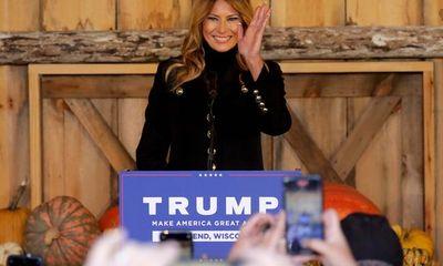 Bầu cử Mỹ 2020: Đệ nhất phu nhân có động thái đặc biệt chưa từng thấy để bảo vệ chồng