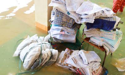 Nghệ An: 134 trường, điểm trường chưa thể dạy học trở lại sau mưa lũ