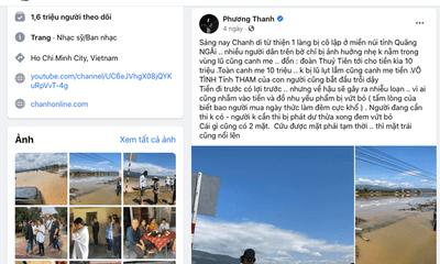 Sở TT&TT TP.HCM làm việc với Phương Thanh sau phát ngôn khi đi từ thiện
