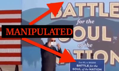 Bầu cử Mỹ 2020: Video giả gây tranh cãi về đại diện đảng Dân chủ Joe Biden
