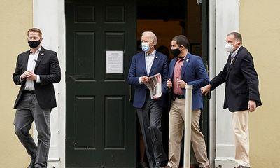 Mật vụ tăng cường lực lượng bảo vệ ông Joe Biden ở quê nhà, bầu cử Mỹ sắp đến hồi kết?