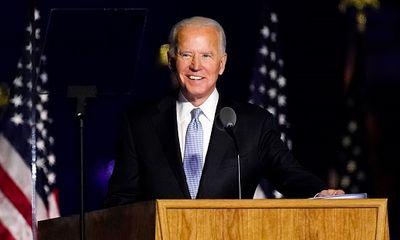 Ông Joe Biden phát biểu sau khi đắc cử Tổng thống Mỹ: