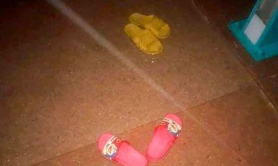Nghi vấn mẹ ôm 2 con nhỏ nhảy cầu tự tử: Hai đôi dép đỏ, vàng tại hiện trường