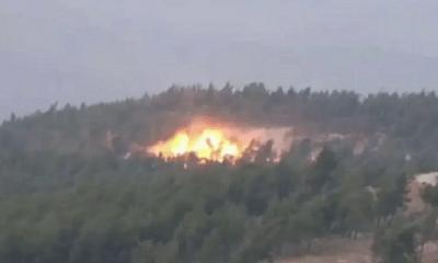Chiến sự Syria: Không quân Nga oanh kích phá nát nhiều trại huấn luyện của khủng bố