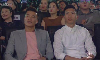 Văn Hậu, Bùi Tiến Dũng xuất hiện tại chung kết Hoa hậu Việt Nam 2020