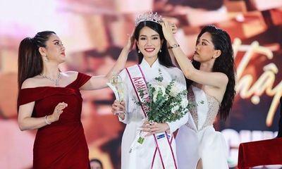 Cận cảnh nhan sắc Á hậu 1 Hoa hậu Việt Nam 2020 Phạm Ngọc Phương Anh