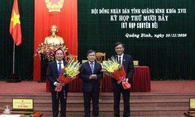Ông Trần Thắng được bầu giữ chức Chủ tịch UBND tỉnh Quảng Bình