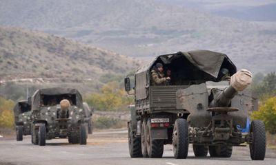 Azerbaijan tiếp quản quận đầu tiên ở khu vực Nagorno-Karabakh