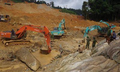 Sạt lở Thủy điện Rào Trăng 3: Lên phương án tìm kiếm 11 nạn nhân mất tích giai đoạn 4