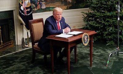 Tổng thống Trump tuyên bố điều kiện rời khỏi Nhà Trắng