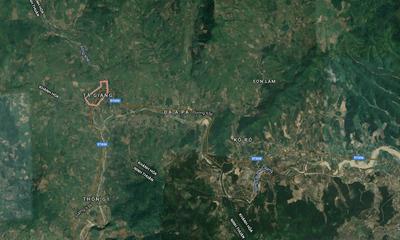 Khánh Hòa: Tìm kiếm 27 du khách và 7 người dân mắc kẹt trên núi Tà Giang