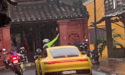 Trích xuất camera truy tìm đoàn xe hạng sang ngang nhiên vào đường cấm trên phố cổ Hội An
