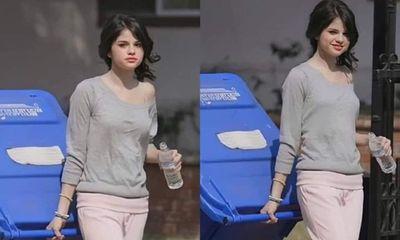Loạt ảnh đi đổ rác của Selena Gomez bị