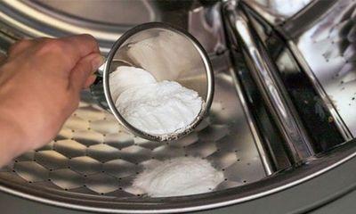 Thả nắm muối vào máy giặt thấy công dụng thần kỳ, ai cũng muốn học theo
