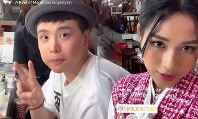 Tân hoa hậu Đỗ Thị Hà khoe ảnh đi ăn