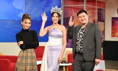Vòng 2 ngấn mỡ của tân hoa hậu Đỗ Thị Hà trên sóng truyền hình làm dân mạng