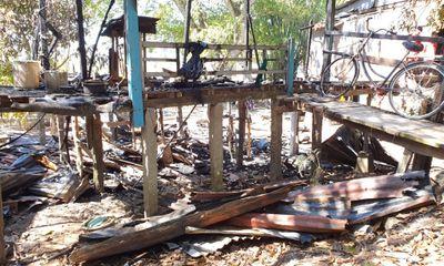 An Giang: Hỏa hoạn thiêu rụi căn nhà gỗ, 1 người tử vong