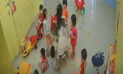 Vụ cô giáo đánh, xách tay trẻ ở Nha Trang: Nữ giáo viên nói gì?