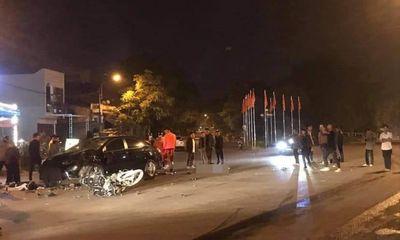 Vụ xe máy va chạm kinh hoàng với ô tô trong đêm: Danh tính 2 sinh viên tử nạn