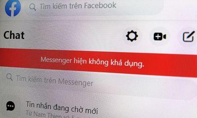Facebook Messenger ở Việt Nam bị lỗi: Không gửi, không nhận được tin nhắn