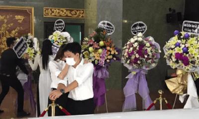 Hàng ngàn người hâm mộ đến lễ tang tiễn đưa cố nghệ sĩ Chí Tài lần cuối