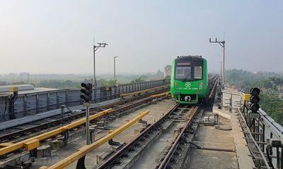Đường sắt Cát Linh - Hà Đông vận hành thử trong vòng 20 ngày