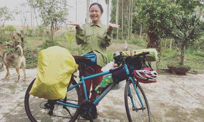 Hé lộ hành trình xuyên Việt bằng xe đạp của 9X Hà thành và chuyện đối phó khi bị gạ tình