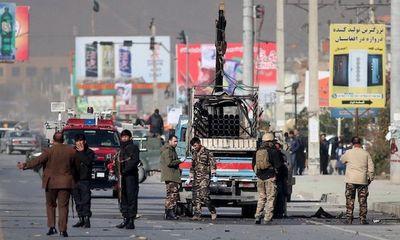 Thủ đô Kabul hứng chịu cùng lúc 4 quả tên lửa, 1 người thiệt mạng