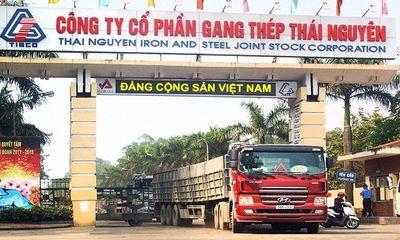 Cổ phiếu TIS lao dốc, vốn hóa Gang thép Thái Nguyên
